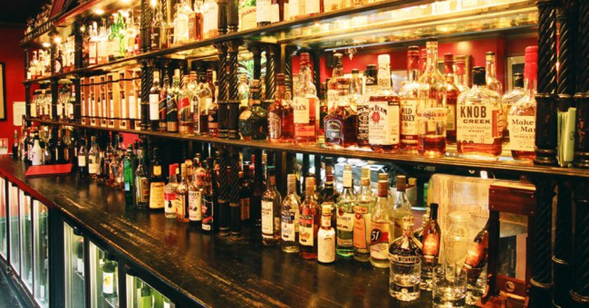 Boisdale's whisky collection | Courtesy of Boisdale of Canary Wharf