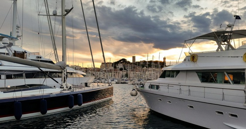 Cannes is an amazing place to spend an evening, rain or shine | © AlexandraKoch/Pixabay