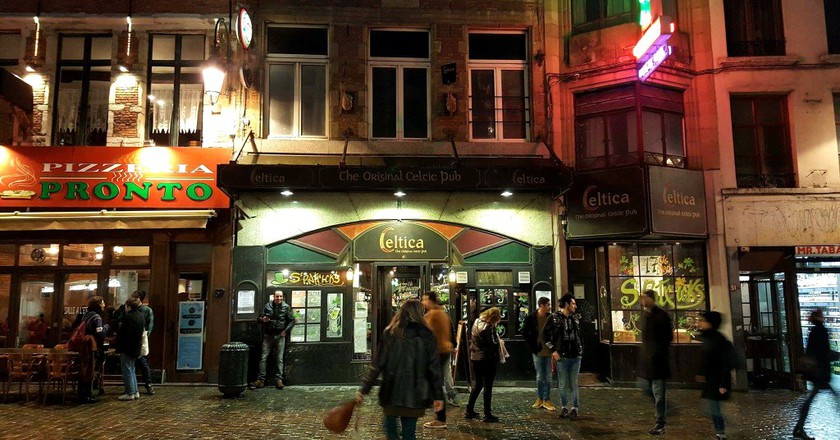 Irish pub Celtica, an Erasmus party staple | Courtesy of Celtica
