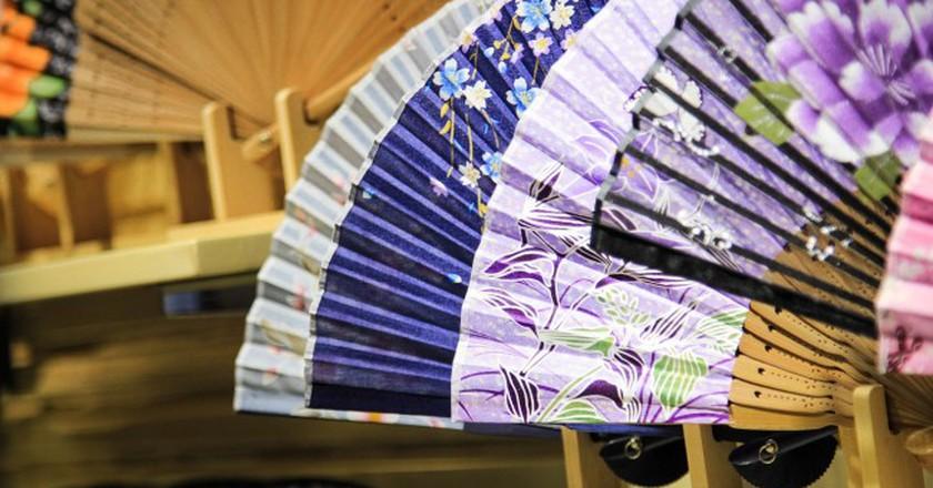 Japanese folding fan | © rovyyy/Pixabay