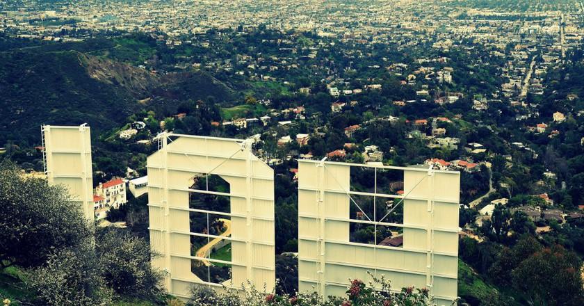Behind the Hollywood Sign ©James Gubera/Flickr