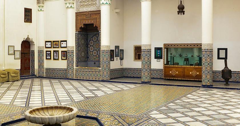 Inside the magnificent Dar Si Said, Marrakesh | © Anton Zelenov / WikiCommons