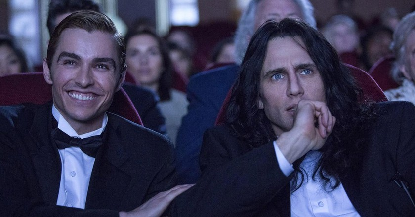 "Dave Franco and James Franco in ""The Disaster Artist."" 