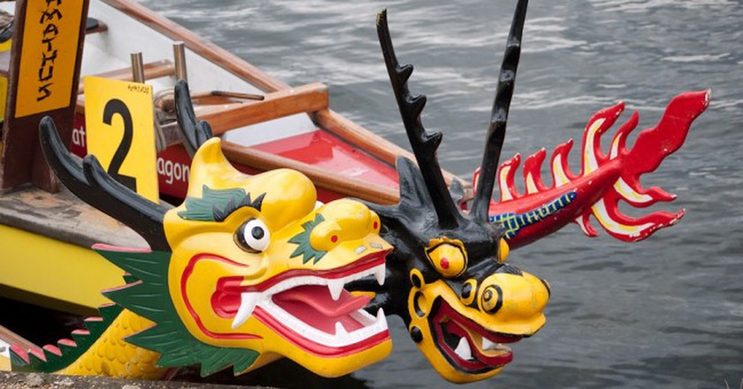 Dragon Boats | © Nick Hubbard / Flickr