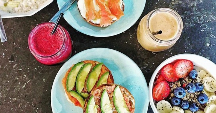 Check out some of Madrid's best cafes | Courtesy of Raw Coco Green Bar