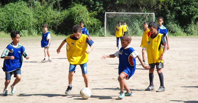 Football is part of the curriculum |© Ginasio Experimental Olimpico
