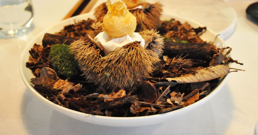 Ryunique Fall Course Menu © Linda Dunsmore