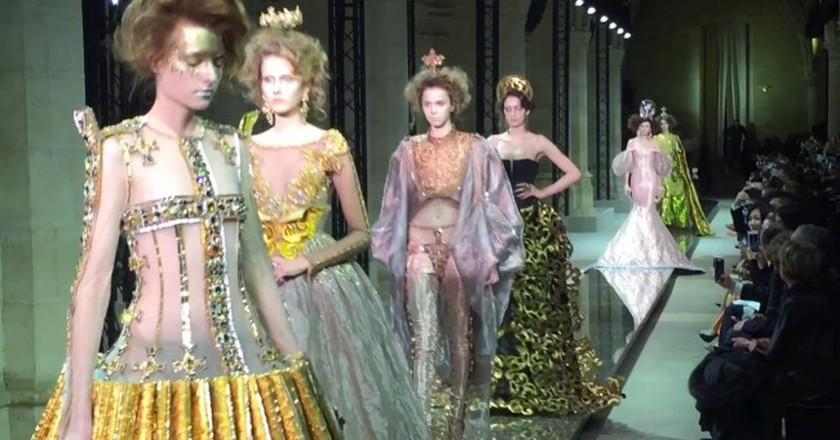 Guo Pei Haute Couture   ©elli ioannou/Vimeo