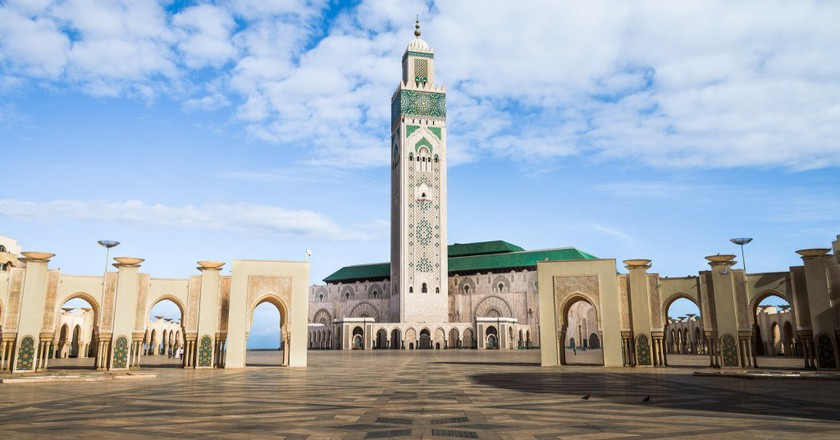 Hassan II Mosque, Casablanca | © Anthony Tong Lee / Flickr