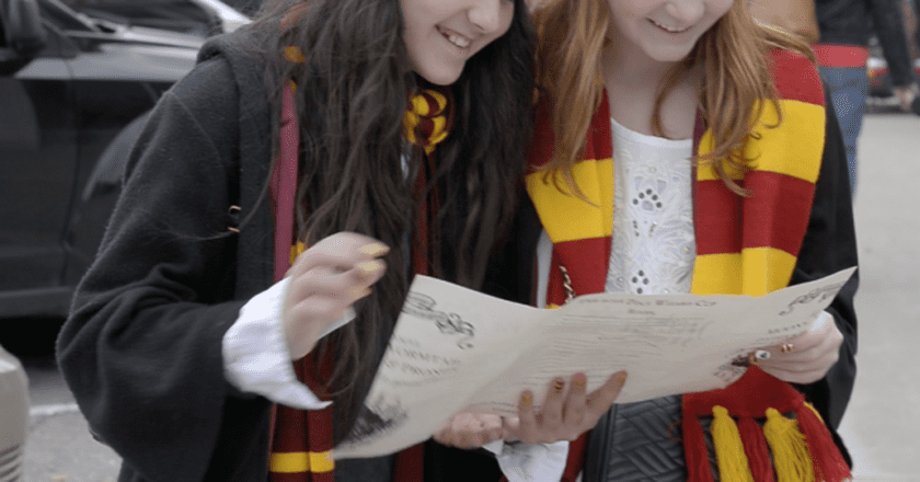 Scavenger Hunt during Harry Potter & the Transfigured Town in October 2016 | Courtesy of HP Fan Fest