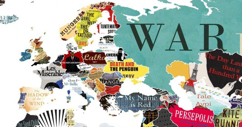 This literature map of the world shows you every countrys favourite backforward24 via reddit gumiabroncs Image collections