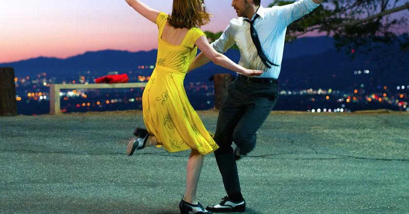 Emma Stone and Ryan Gosling in La La Land   Courtesy of Lionsgate