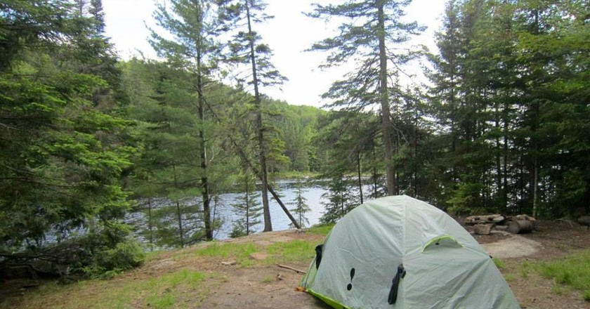 Camping in Algonquin |  © Laura Paskevics