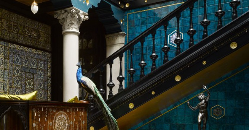 Leighton House Museum. Staircase |© Will Pryce