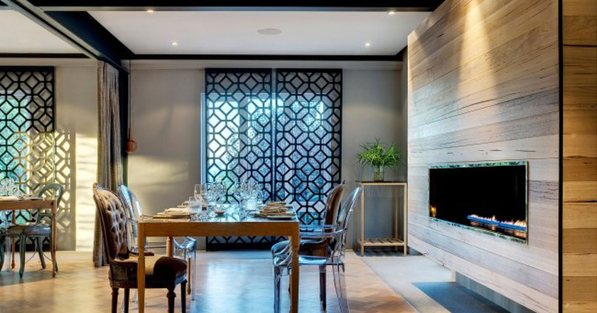 Dine in a sleek, contemporary space at Makaron Restaurant | Courtesy of Makaron Restaurant