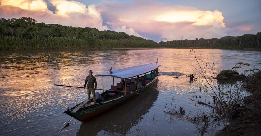 Sunset at the Manu National Park © Manuel Orbegozo/WWF Perú