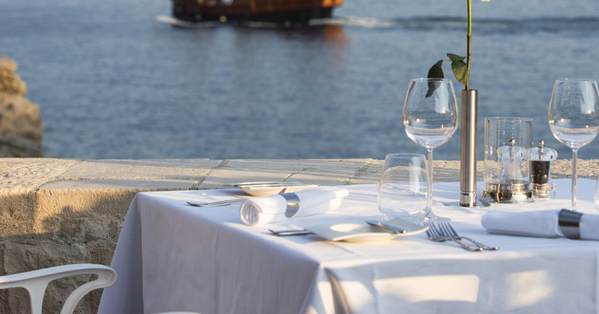 Nautika Restaurant Terrace, Dubrovnik ©  Nautika
