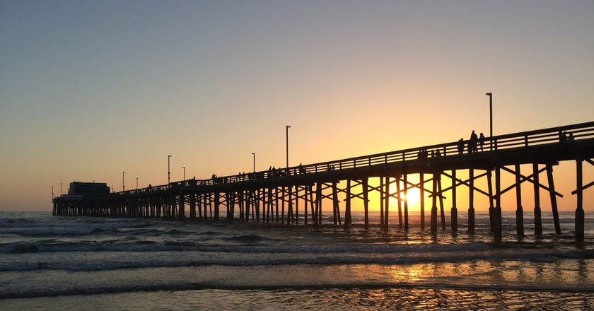 Newport Beach Pier ©Sergei Gussev/Flickr