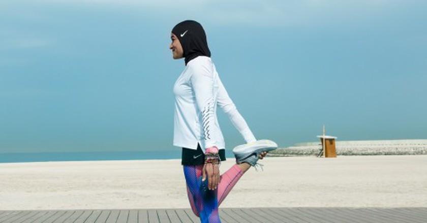 The Nike Pro sports hijab. |© Courtesy of Nike