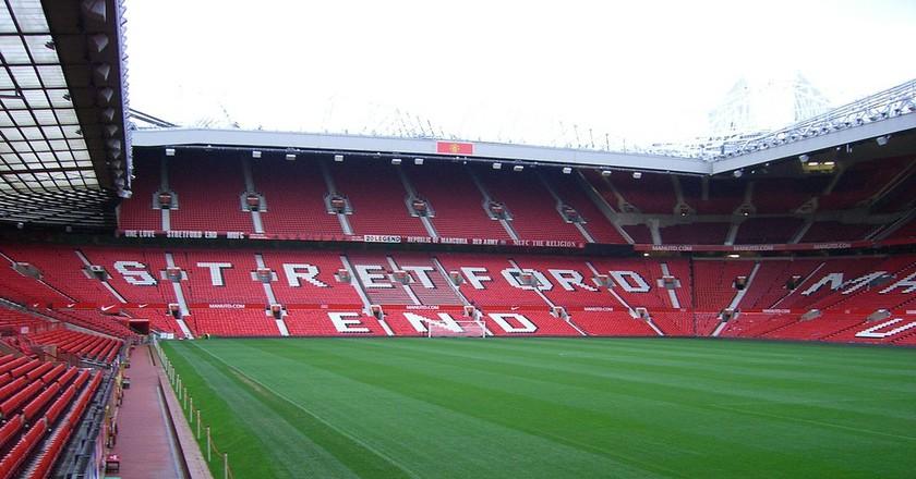 Old Trafford   © Sean MacEntee / Flickr