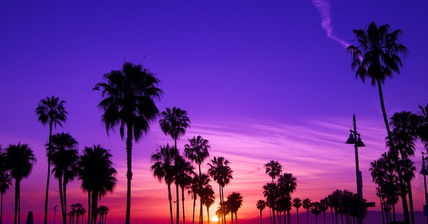 The sun sets in Los Angeles | © Tyler Merbler / Flickr