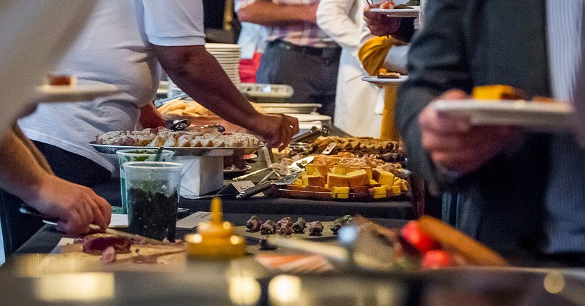 Buffet-style at the Panamanian Food Fest | © Panamerican Food Festival/ Flickr
