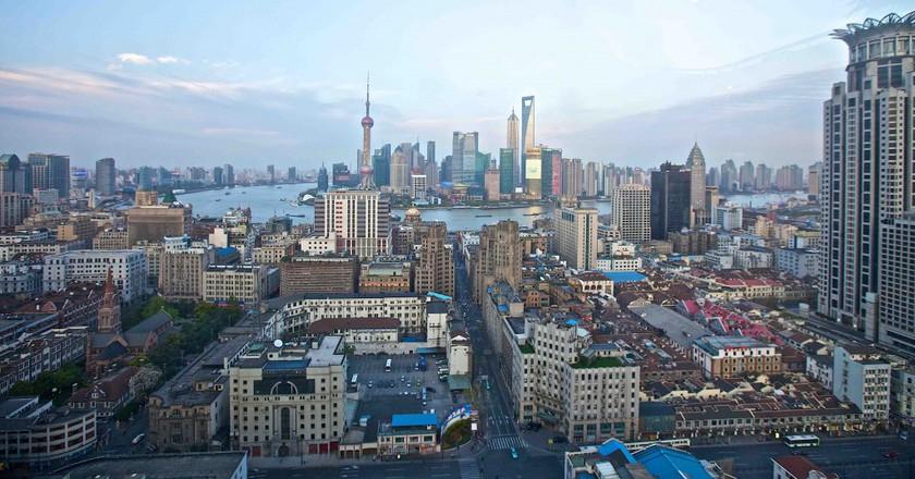 Shanghai cityscape | Pexels