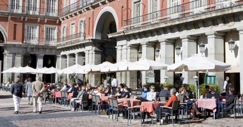 The Plaza Mayor in Madrid | © Madrid Destino Cultura Turismo y Negocio