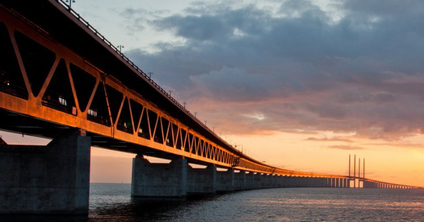 Öresund Bridge connects Malmö and Copenhagen | ©L.E Daniel Larsson/Flickr