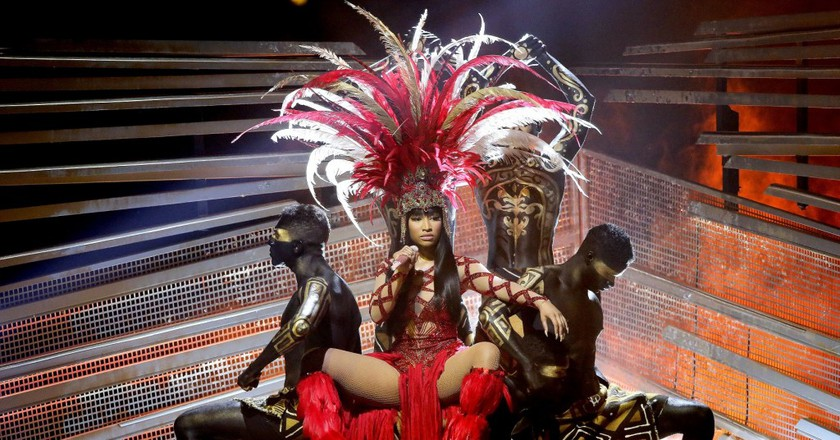 Nicki Minaj shot her new video in London | © Chelsea Lauren/REX/Shutterstock