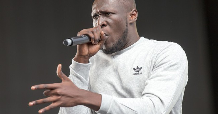 Stormzy approves of the mural | © Geoff Robinson Photography / REX / Shutterstock