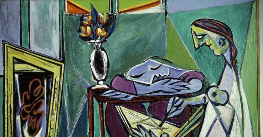 La Muse 1935 (Pablo Picasso) 1970 © Alfredo Dagli Orti/REX/Shutterstock