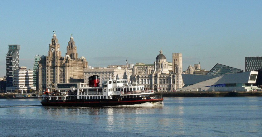 Royal Iris of the Mersey, Pier Head, Liverpool | © Tim Dutton / Flickr