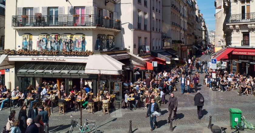 Rue Montorgueil │© Jean-Christophe BENOIST/WikiCommons