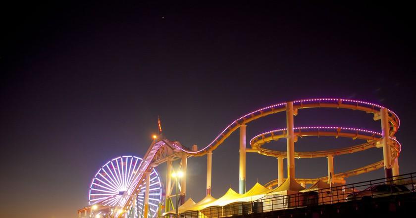 Santa Monica Pier | © Justin Vidamo / Flickr