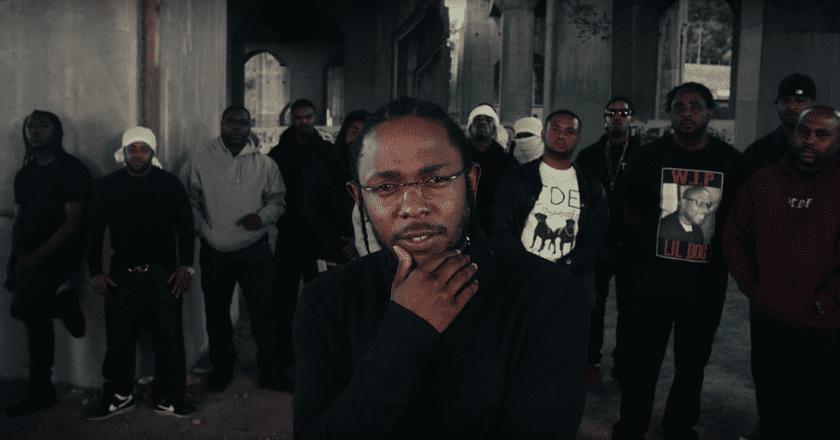 Kendrick Lamar 'Humble' video still | © TDE/YouTube
