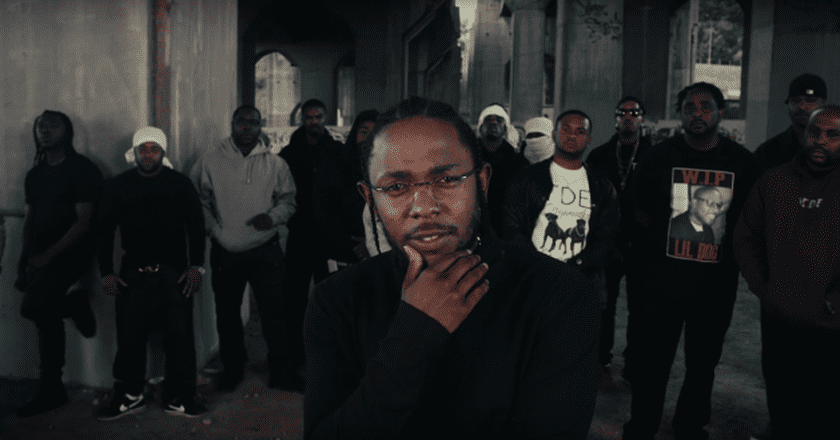 Kendrick Lamar 'Humble' video still | © TDE/YouTube