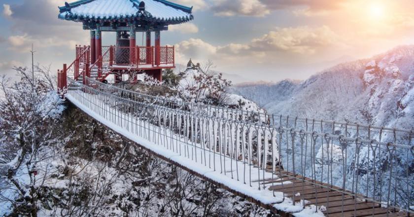YakSaam Temple, Geumosan Mountain | © Guitar phtographer / Shutterstock