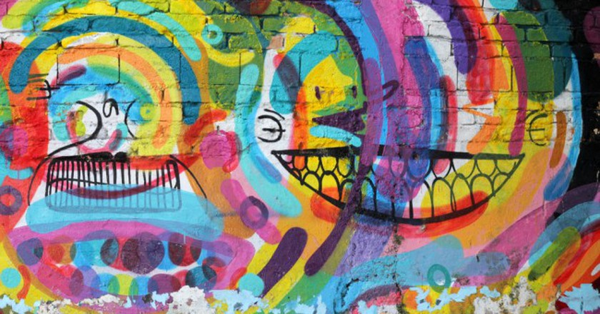 Graffiti of unidentified artist on the wall of the Batman alley in Sao Paulo Brazil | © MAR Photography/Shutterstock