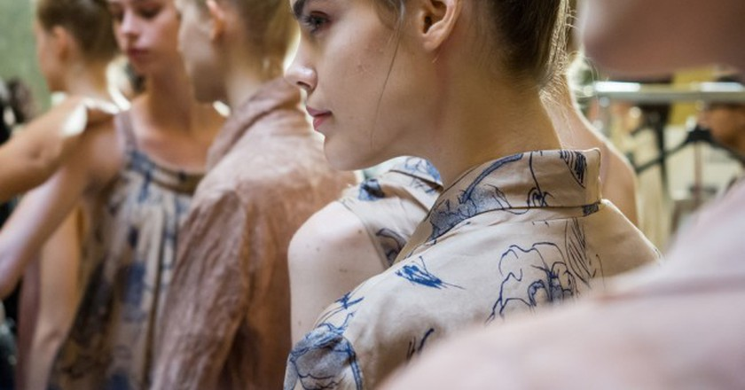 Backstage at Fashion Week| © Marco Aprile/Shutterstock