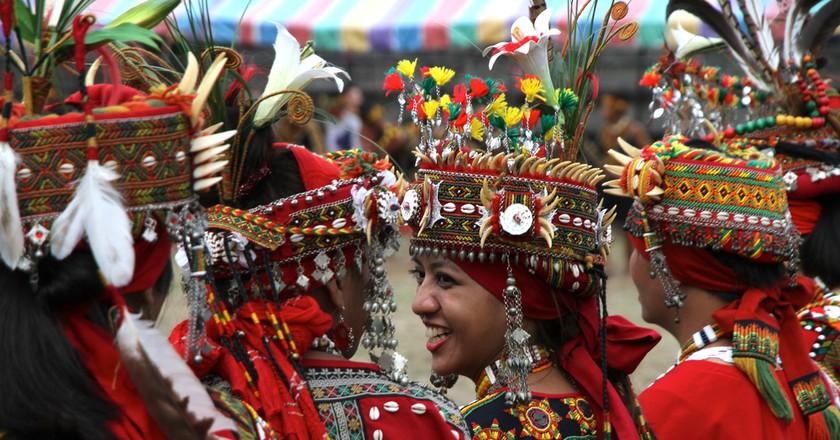 Rukai Tribe women at Harvest Festival   © Dagobah Pictures / Shutterstock