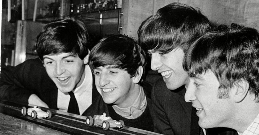 The Beatles come from Liverpool | © D Adams/Daily Sketch/REX/Shutterstock