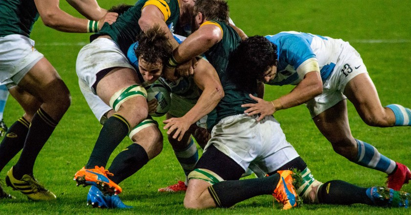 South Africa vs Argentina 2015 |© David Roberts / Flickr