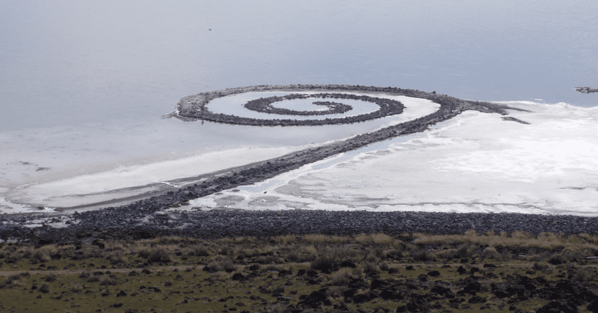 Spiral Jetty from Rozel Point | Creative Commons