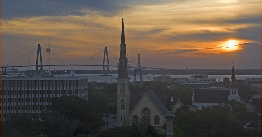 Sunrise over Charleston, South Carolina | ©Ron Cogswell / Flickr