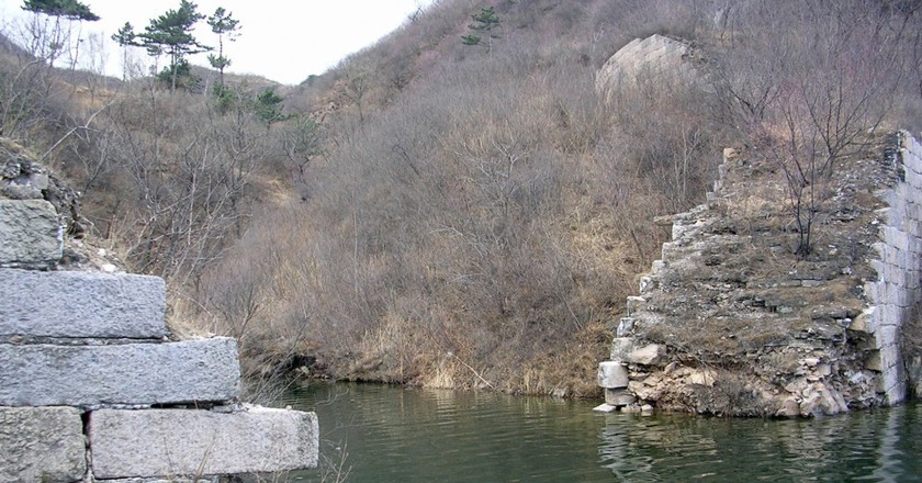 Hidden Histories: The Underwater Great Wall of China