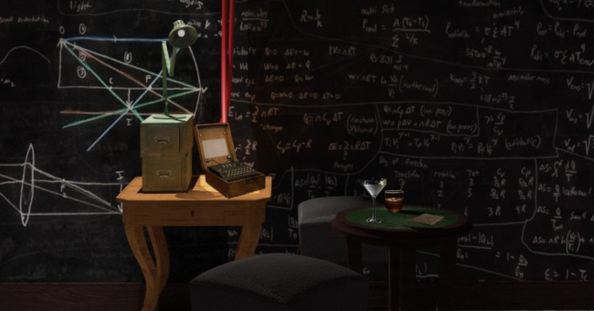 An Alan Turing Code Breaking Bar is Coming to London