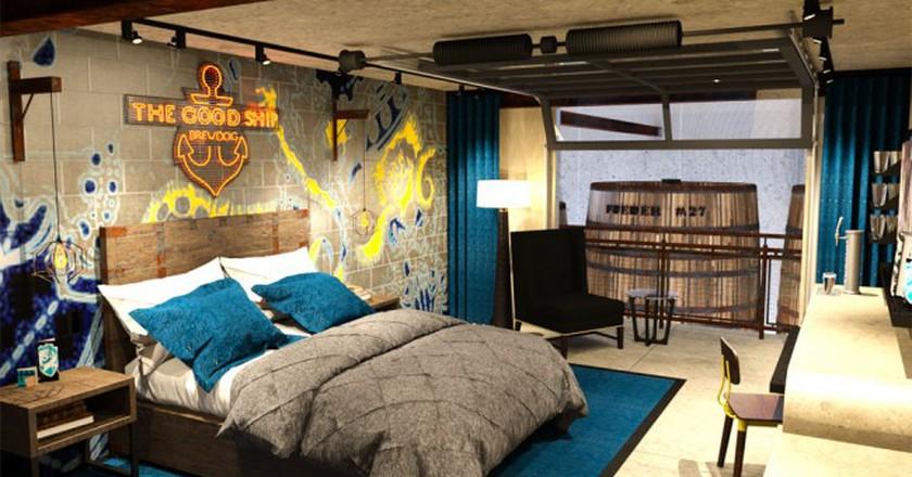 A DogHouse Bedroom   © BrewDog