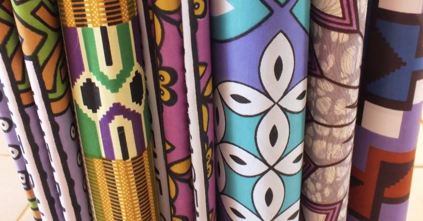 African fabric | © Liz Ndambuki