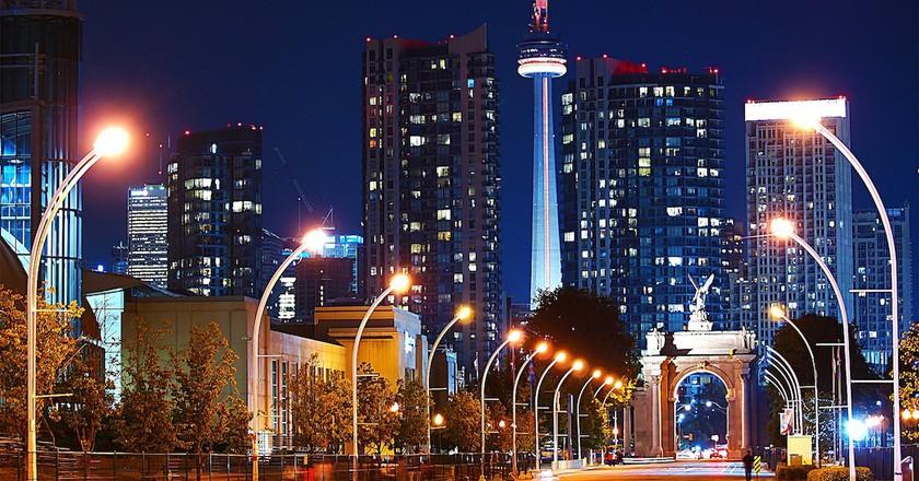 Night shot of Toronto| © paul bica / Flickr